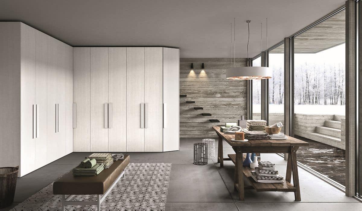 Imponente armadio modulare ideale per ambienti moderni e for Ambienti moderni
