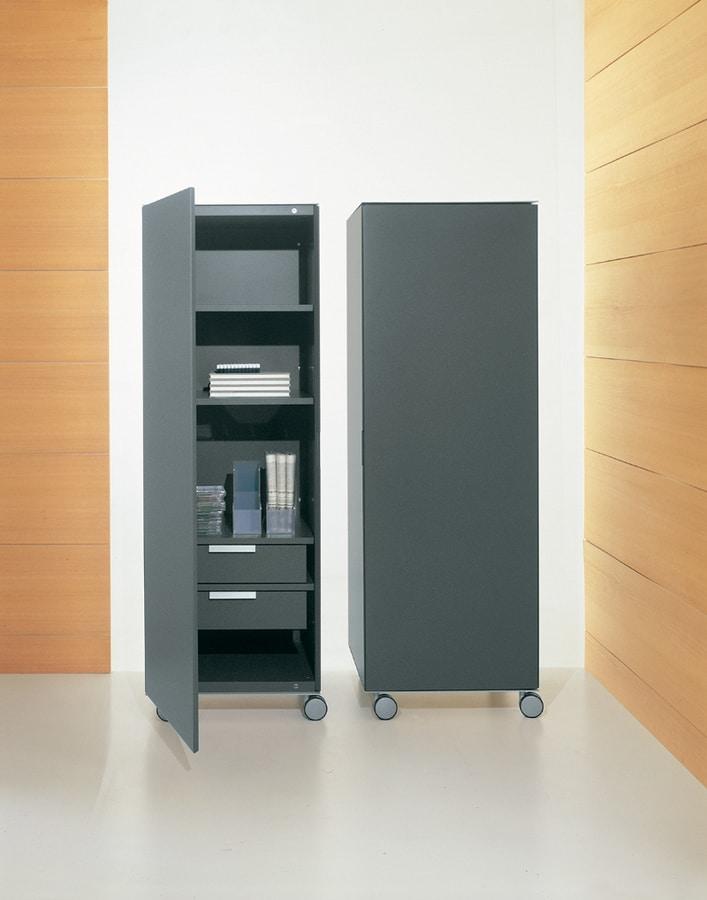 Contenitore verticale per ufficio mobile per la casa for Mobile per ufficio