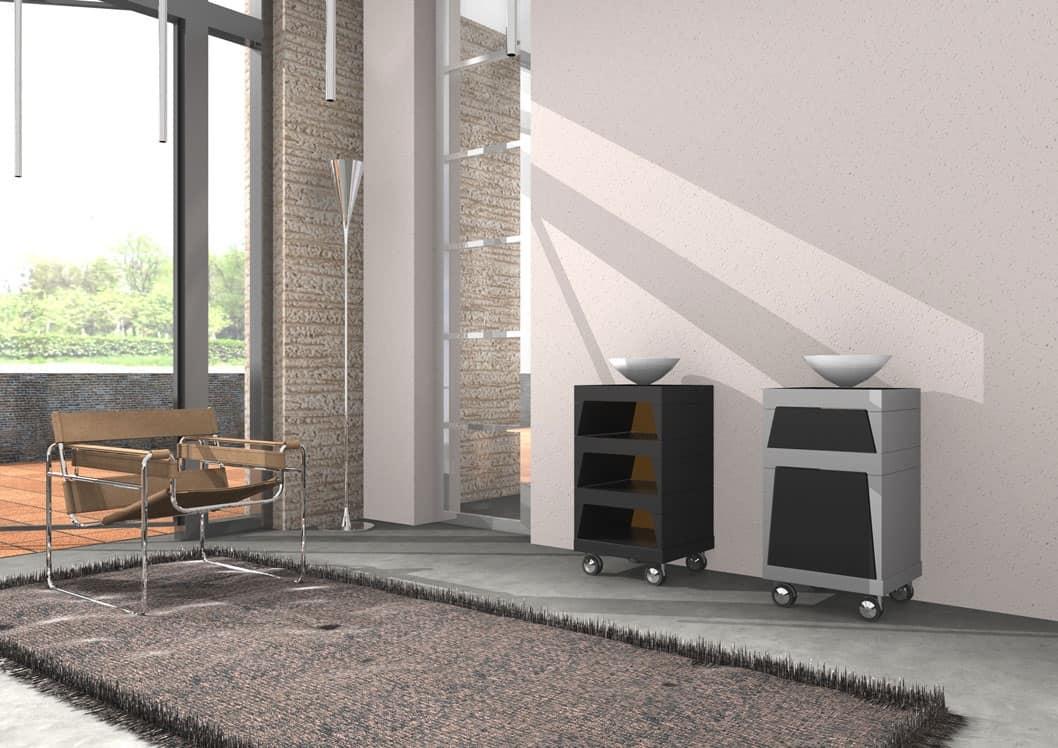 Mobili contenitori per lavanderia design casa creativa e for Mobili contenitori design