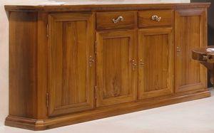 '500 170, Credenza classica, in legno di noce
