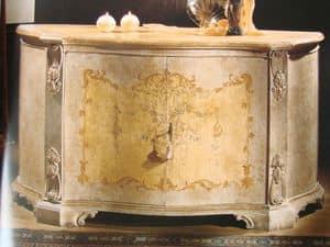 Art. 1673/1, Credenza con 2 ante per sala da pranzo, classica di lusso