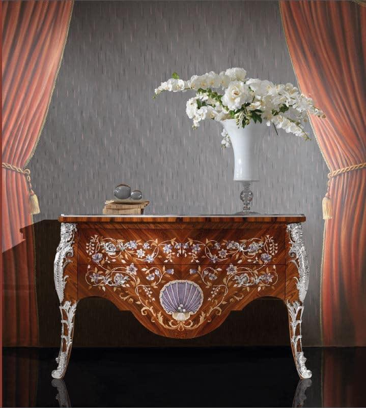 mobile decorato ad angolo, classico, per la casa di lusso   idfdesign - Mobili Soggiorno Di Lusso 2