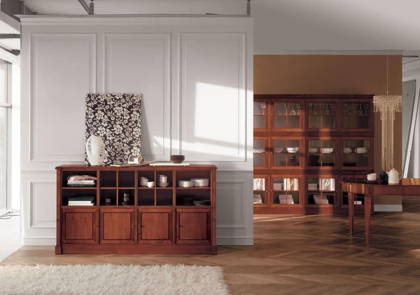 ... Cubica Credenza 6, Mobile classico soggiorno Soggiorno - IDFdesign