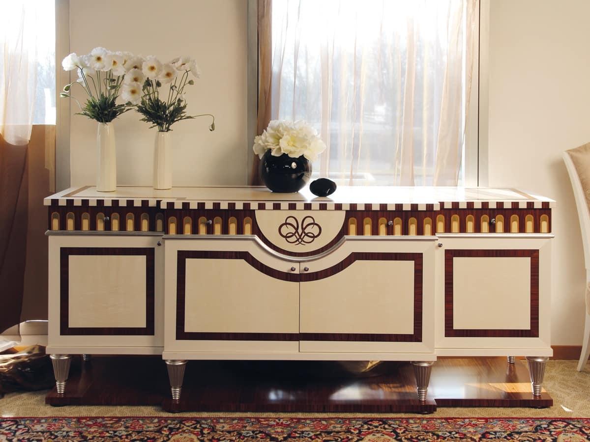 HOME P08a Classico Contemporaneo Prodotti Mobili Madie Classiche Ed In  #90673B 1200 900 Sala Da Pranzo Classica Ikea