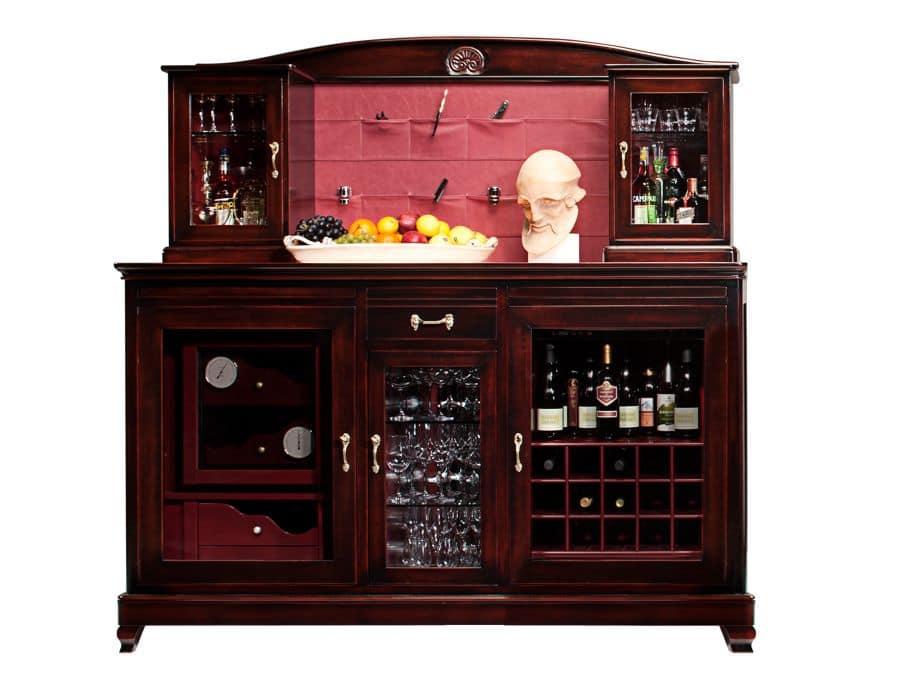 Credenza Per Bicchieri : Mobile winw bar con due climatizzatori vano centrale per