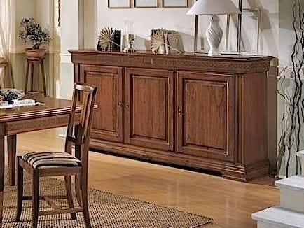 Credenza in stile classico, in legno massello | IDFdesign