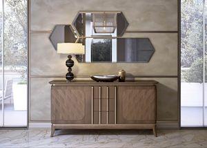 Art. 5000, Credenza con piano in marmo