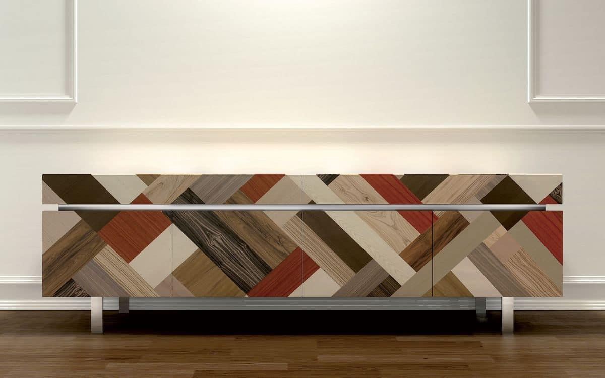Credenza Moderna Design : Credenza design ideale per ambienti residenziali moderni ante