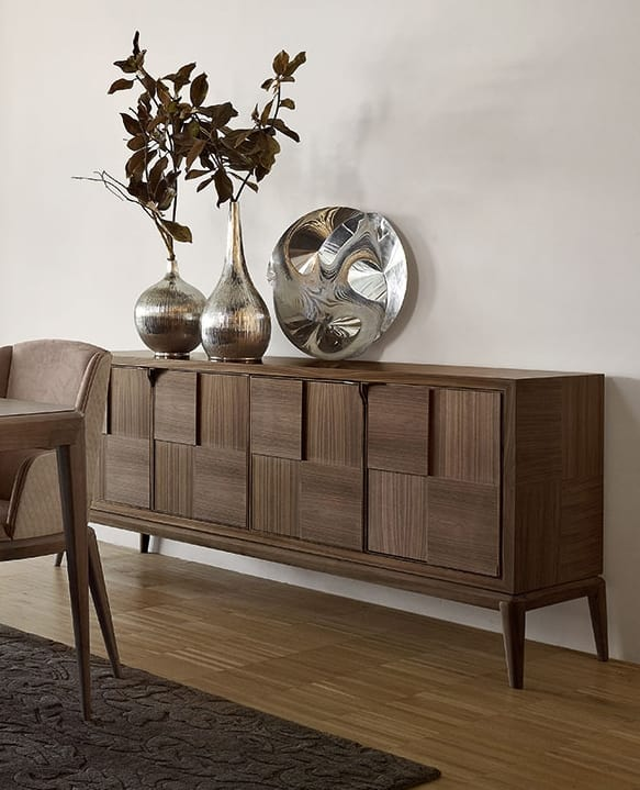 Fionn credenza, Credenza in legno per soggiorno