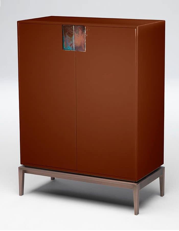 For living tall cabinet mobile contenitore tinello for Mobili tinello