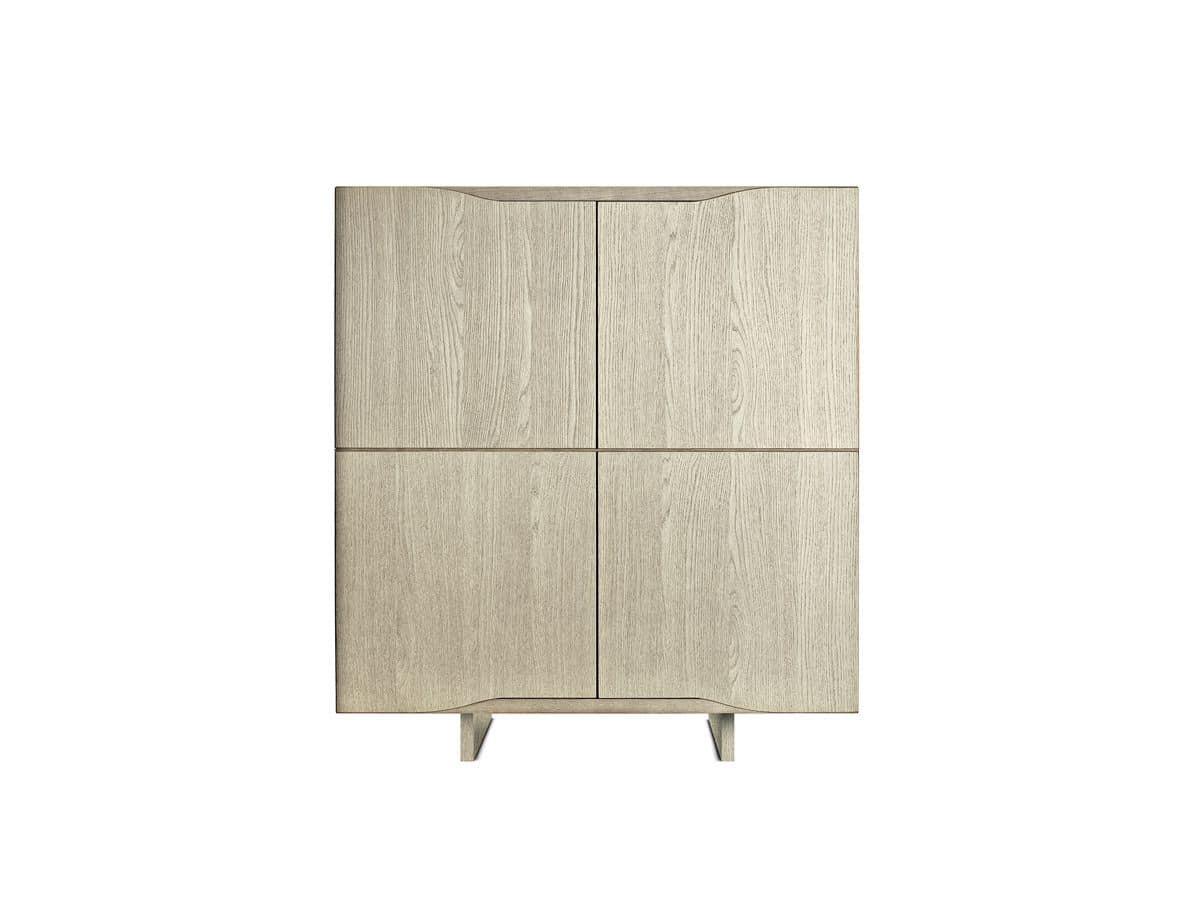 Credenza Per Terrazzo : Madia 4 ante in legno per ambienti residenziali idfdesign