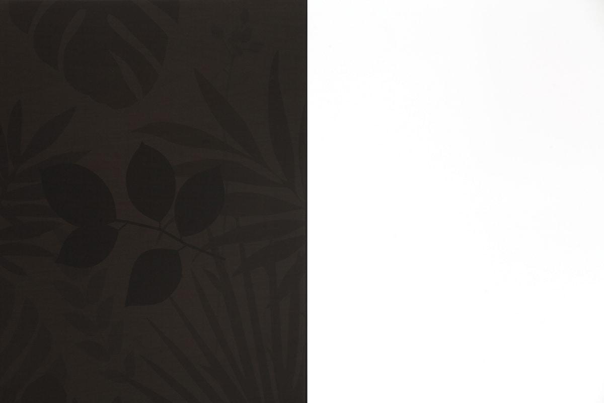KONG, Madia con serigrafia floreale