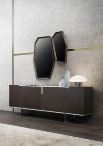 Veronique, Madia dal design minimale