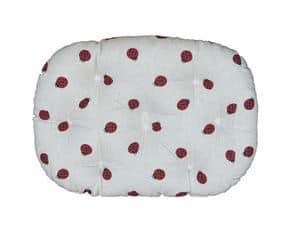 Coccinella, Simpatico cuscino per cuccia, con disegni di insetti