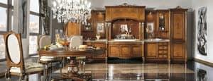 Immagine di Cucina coll. Venezia in Radica, ideale per cucina