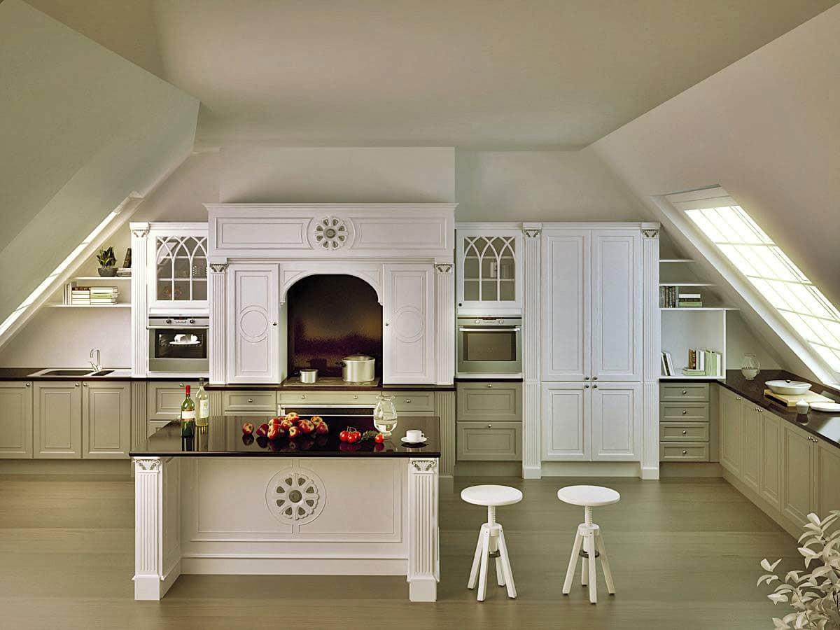Cucina elegante per la casa cucina su misura per la casa - Cucina di lusso ...