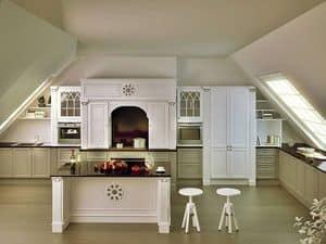 Cucina Oxford, Cucina elegante per la casa, cucina su misura per la casa