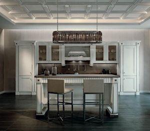 Fifth Avenue cucina, Cucina lussuosa con isola