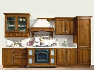 201, Cucina lineare, dal design tradizionale