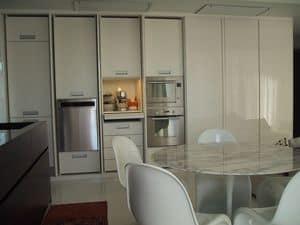 GHOST, Cucina a scomparsa, elegante e funzionale, su misura