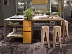 Immagine di More kitchen Isola, mobili-cucina