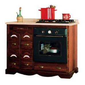 Art. 387, Base cottura per cucina rustica