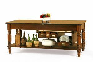Art. 480, Piano da lavoro per cucina in legno