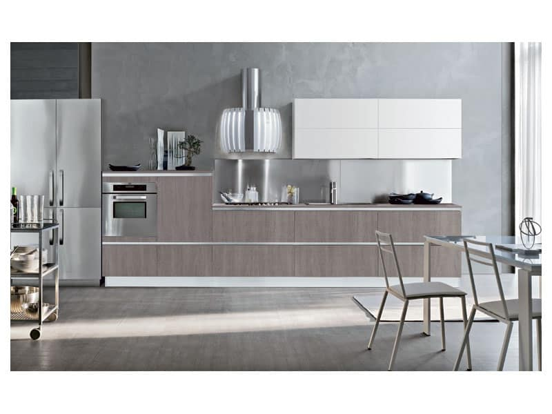 Cucine Moderne Lineari Ed Essenziali Pictures to pin on Pinterest