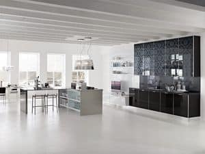 Immagine di Brillant 1, cucine contemporanee