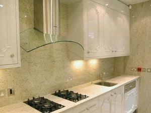 Immagine di Cucina 001, pavimentazione pietra