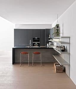 Immagine di INDada comp.02, cucina lineare