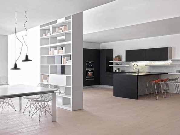 Cucina hi-tech per Casa minimale, varie finiture  IDFdesign
