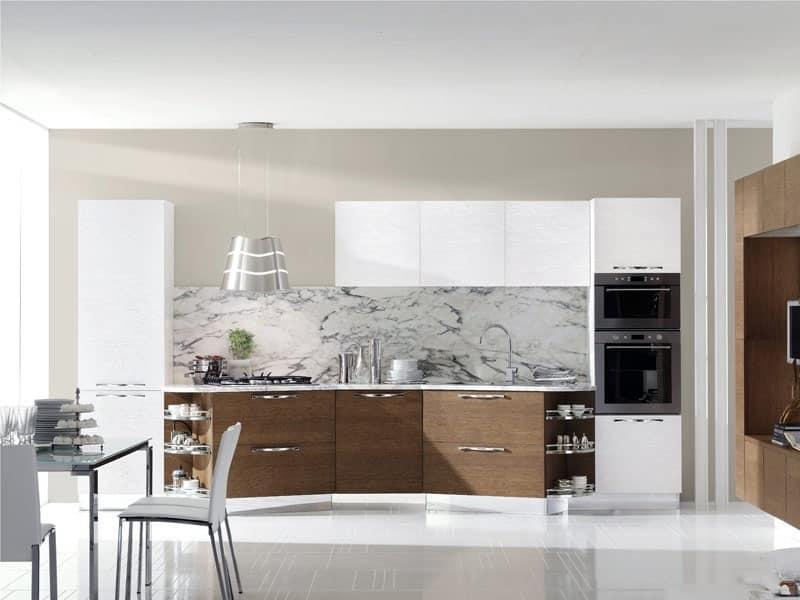 Life 2 mobili cucina casa moderna idfdesign - Mobili cucina moderna ...