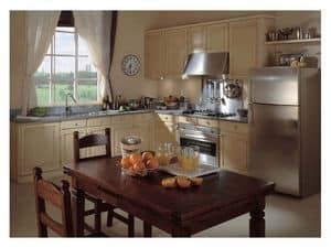 Immagine di Nostalgia ad Angolo, cucine legno