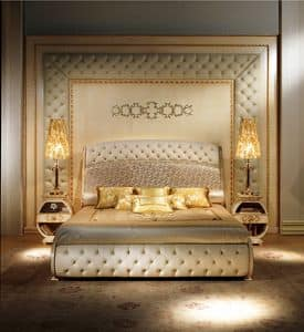 BOIS04, Bioserie classiche di lusso, capitonn�, decori in rilievo