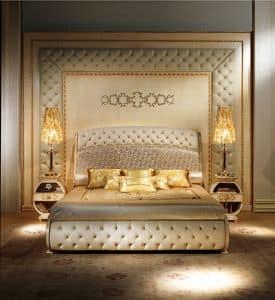 BOIS04, Bioserie classiche di lusso, capitonnè, decori in rilievo