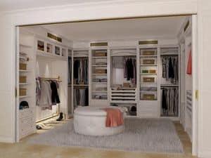 Immagine di Boiserie cabina armadio 2, cabina per vestiti