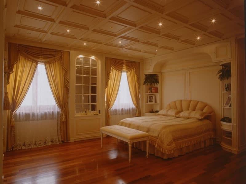 Boiserie attrezzata per camera da letto | IDFdesign