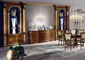 Immagine di BOISERIE CON NICCHIE, pareti-in-legno