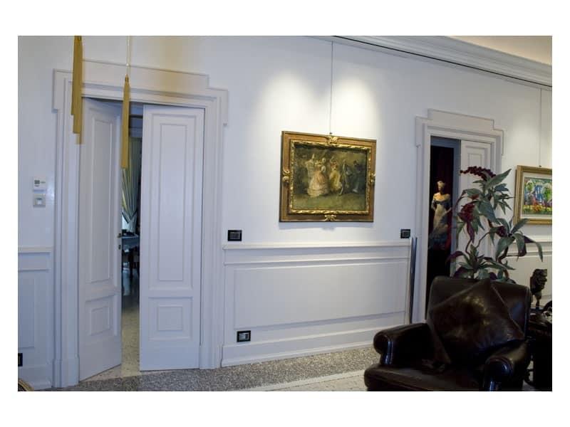 Boiserie In Legno Salotto ~ Idee per il design della casa