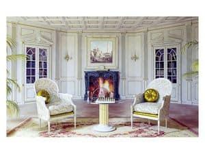 Immagine di Boiserie Versailles soggiorno, boiserie legno
