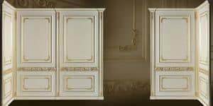 Immagine di Boiserie Wien, parete classica di lusso