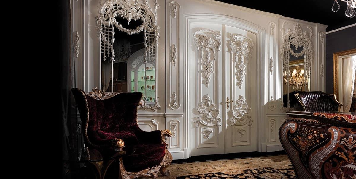 Collezione 700 parete in legno ufficio idfdesign for Bellotti arredamenti