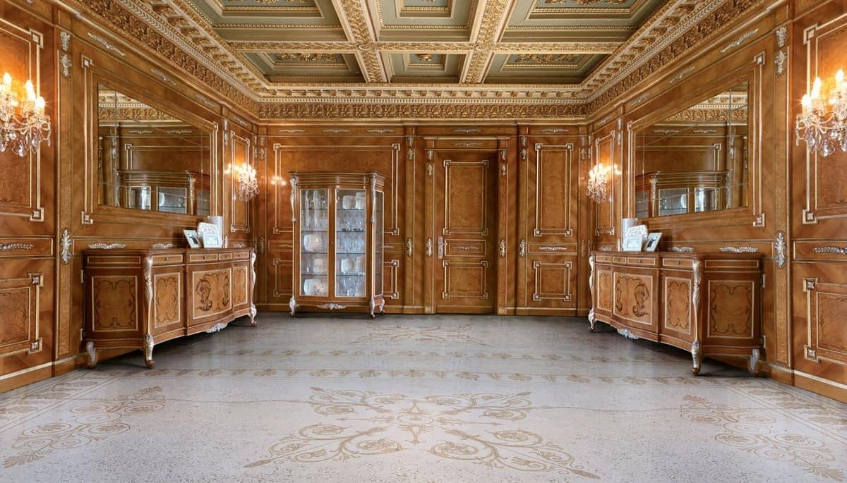 Boiserie classica intagliata per le ville di lusso idfdesign for Ville classiche