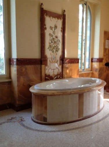 Boiseries rivestimento bagno 007 - Rivestimento bagno legno ...