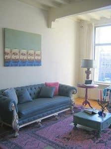 Immagine di 277 Daniela divano 2 posti, divano classico di lusso