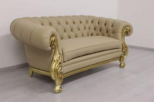 Immagine di 278 Daniela divano 3 posti, divano in stile