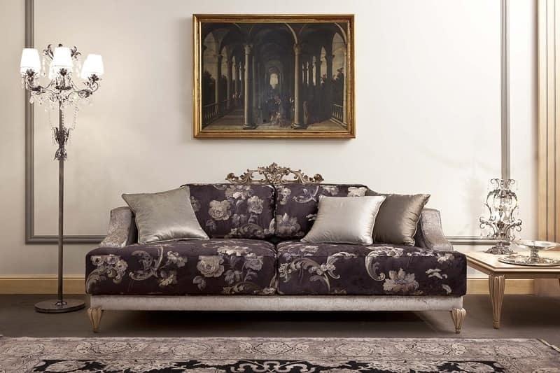 Imbottiti divani divani classici ed in stile in stile e - Immagini salotti ...