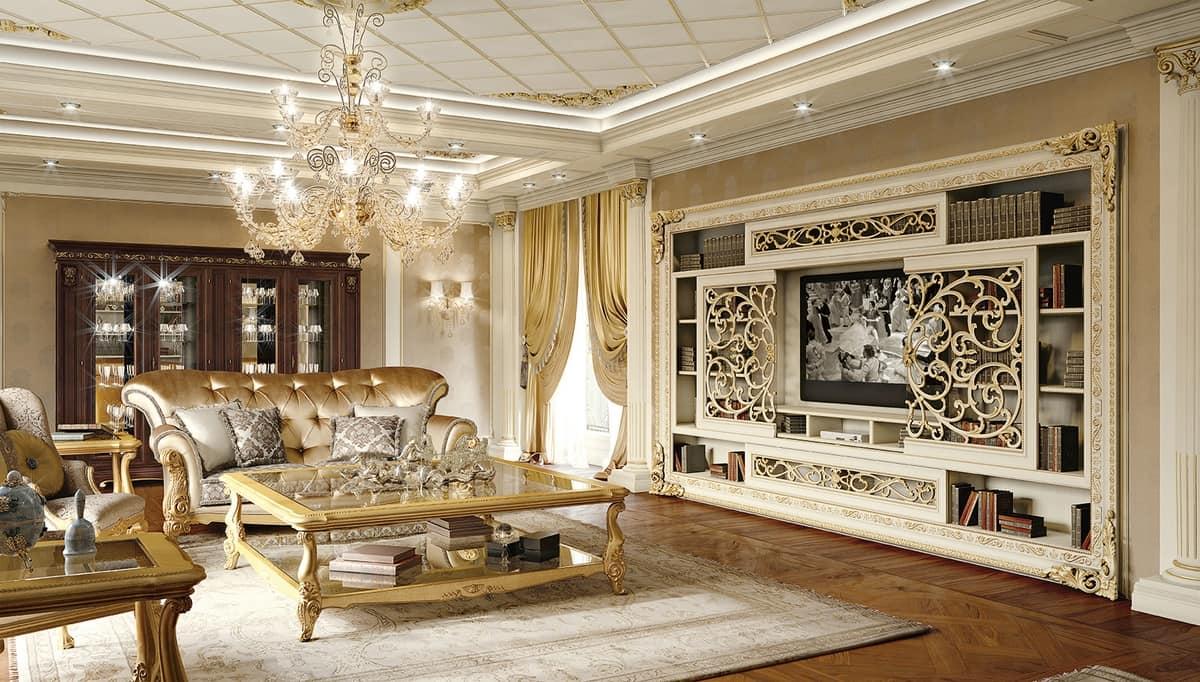 Salotti moderni di lusso soggiorni moderni divano retr for Salotti di lusso moderni