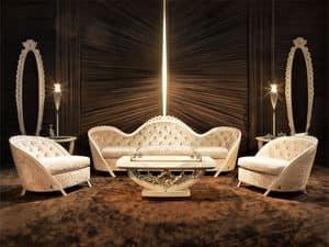 Immagine di Art. 3158/3 Subliminal, divani classici di lusso